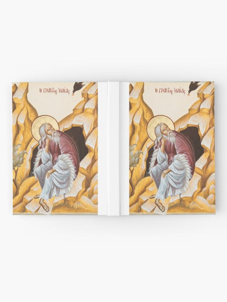 Alternate view of Prophet Elijah Hardcover Journal