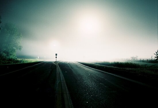 Highway at night number 2 by agenttomcat