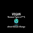 Climate Change-Global Warming -Vegan quote by Angie Stimson