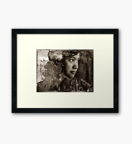 Siam dreaming beauty Framed Print