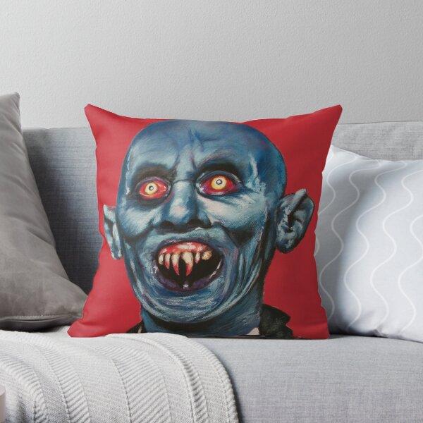 Kurt Barlow from Salems Lot - Stephen King Throw Pillow