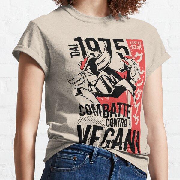 046b Goldrake Contro Vegani Classic T-Shirt