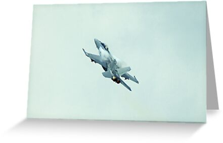 F-18 Hornet by Mick Smith