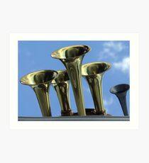 Horns of Plenty Art Print