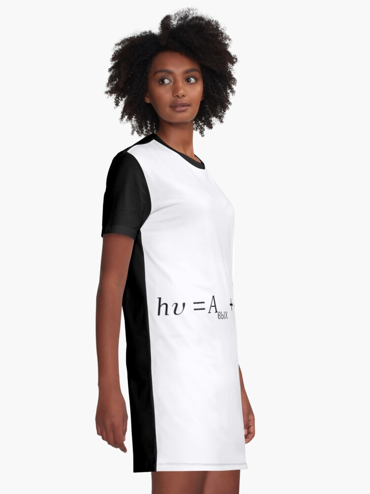 Alternate view of #sphere, #illustration, #design, #ball, shape, separation, circle, retro style, cartography, physical geography, square Graphic T-Shirt Dress