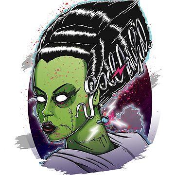 Bride of Frankenstein by studioretardo