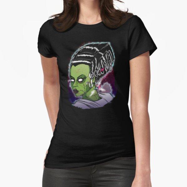 Bride of Frankenstein Fitted T-Shirt