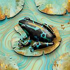 Poison Dart Frog by Karin Taylor