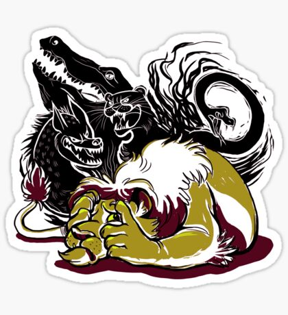 The Lion Sleeps (Poorly) Tonight Sticker