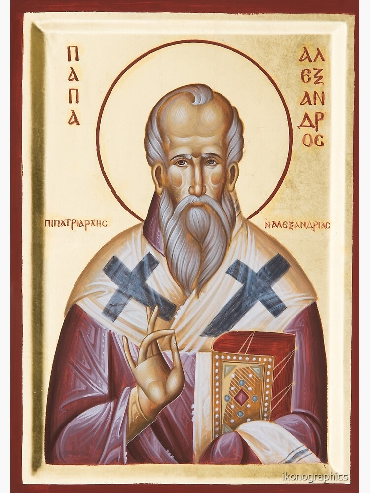 St Alexander of Alexandria by ikonographics