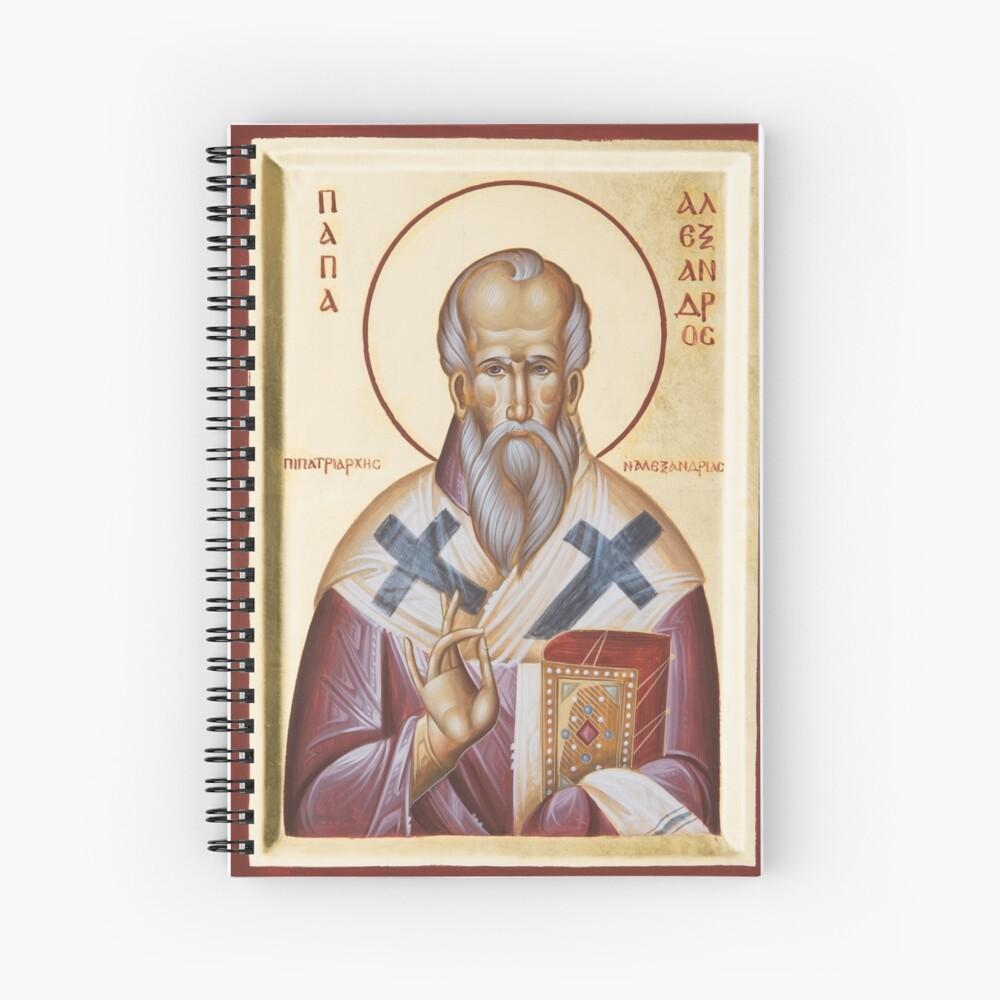 St Alexander of Alexandria Spiral Notebook