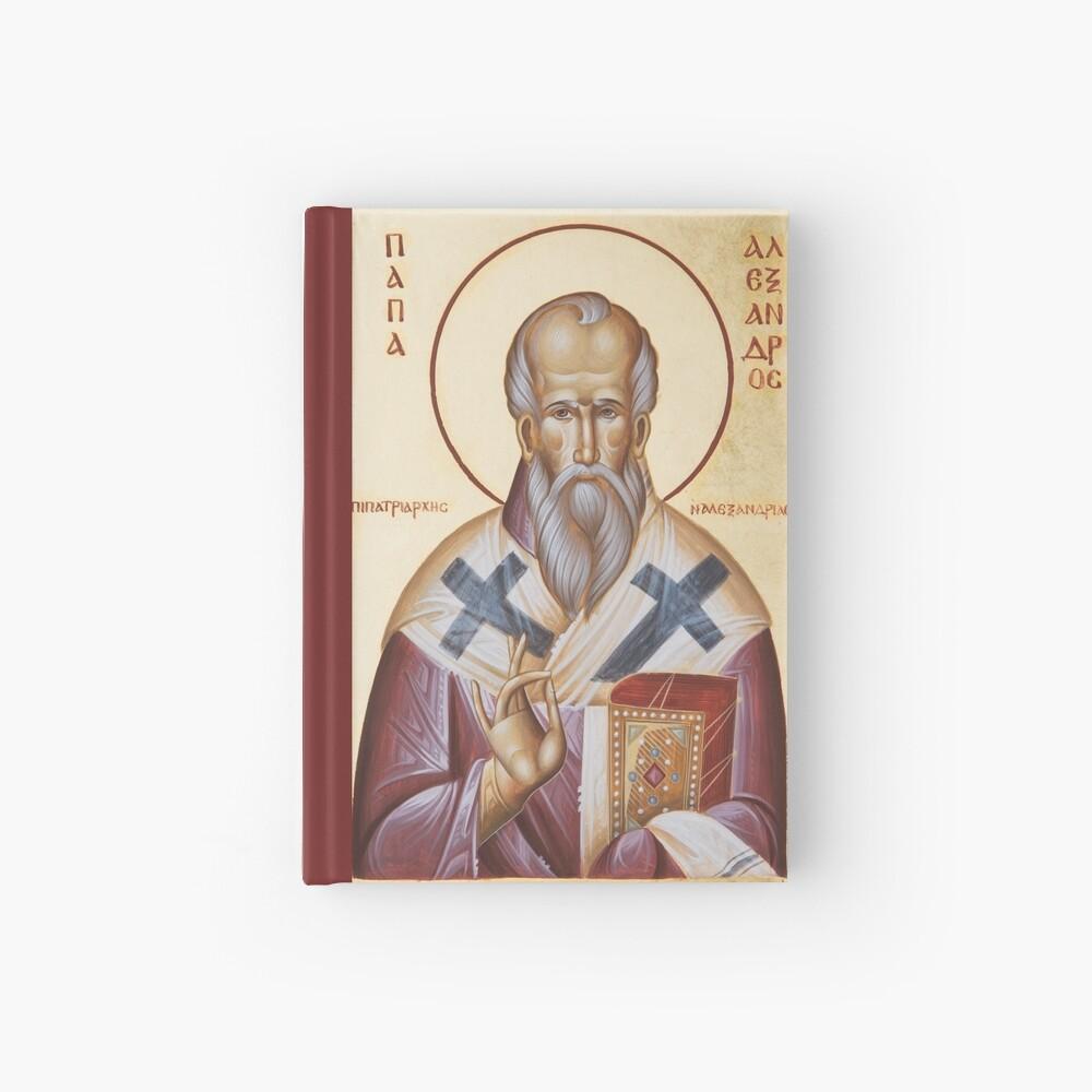 St Alexander of Alexandria Hardcover Journal