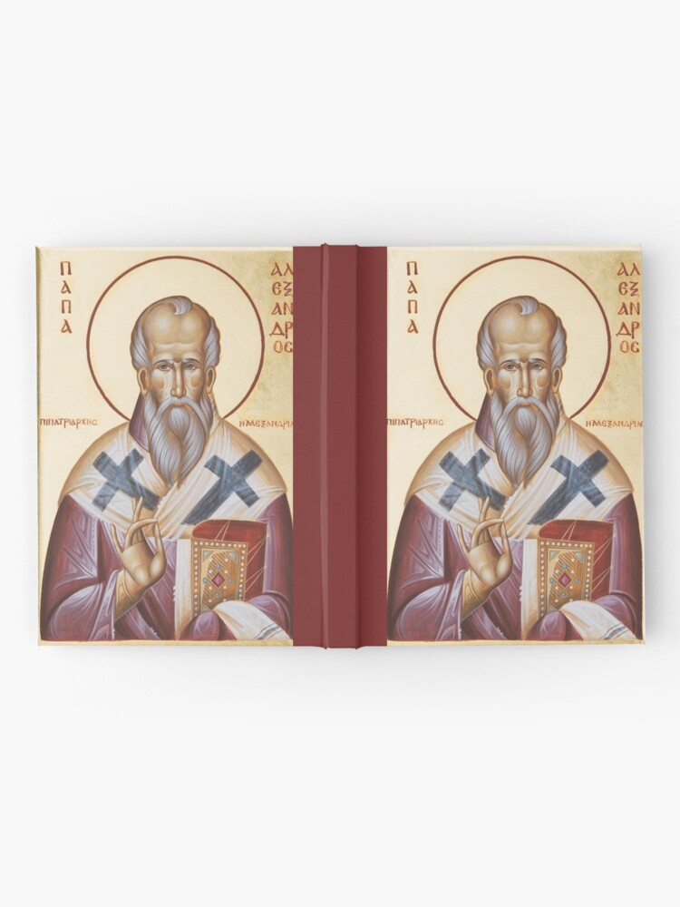 Alternate view of St Alexander of Alexandria Hardcover Journal