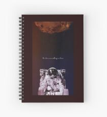 The Stars Are Calling Us Home — AsteroidDay Spiral Notebook