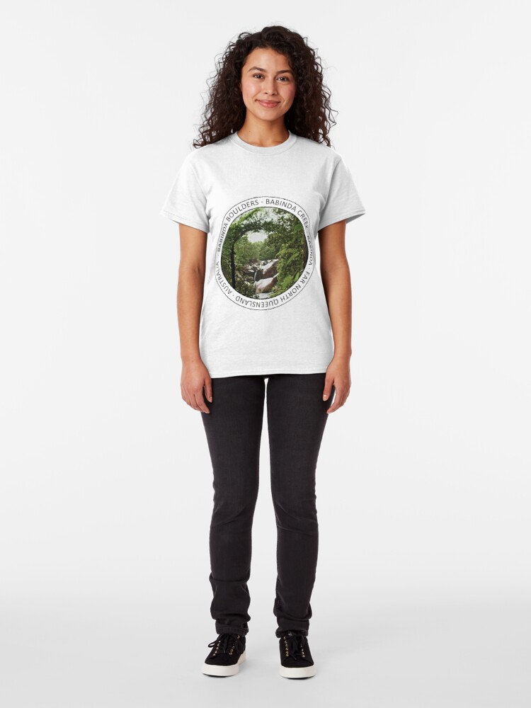 Alternate view of Rainforest Window Classic T-Shirt