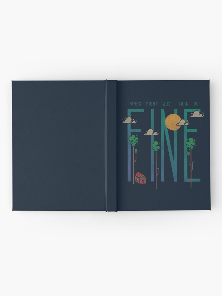 Alternate view of Breathe Hardcover Journal