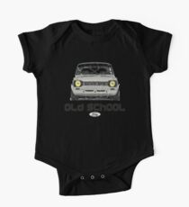 Classic Ford Escort MK1 Old School Distressed T-Shirt Kids Clothes
