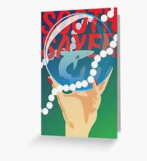 Soothsayer Greeting Card