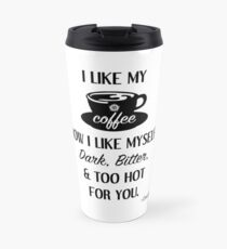 Supernatural - Crowley - Coffee Quote Travel Mug
