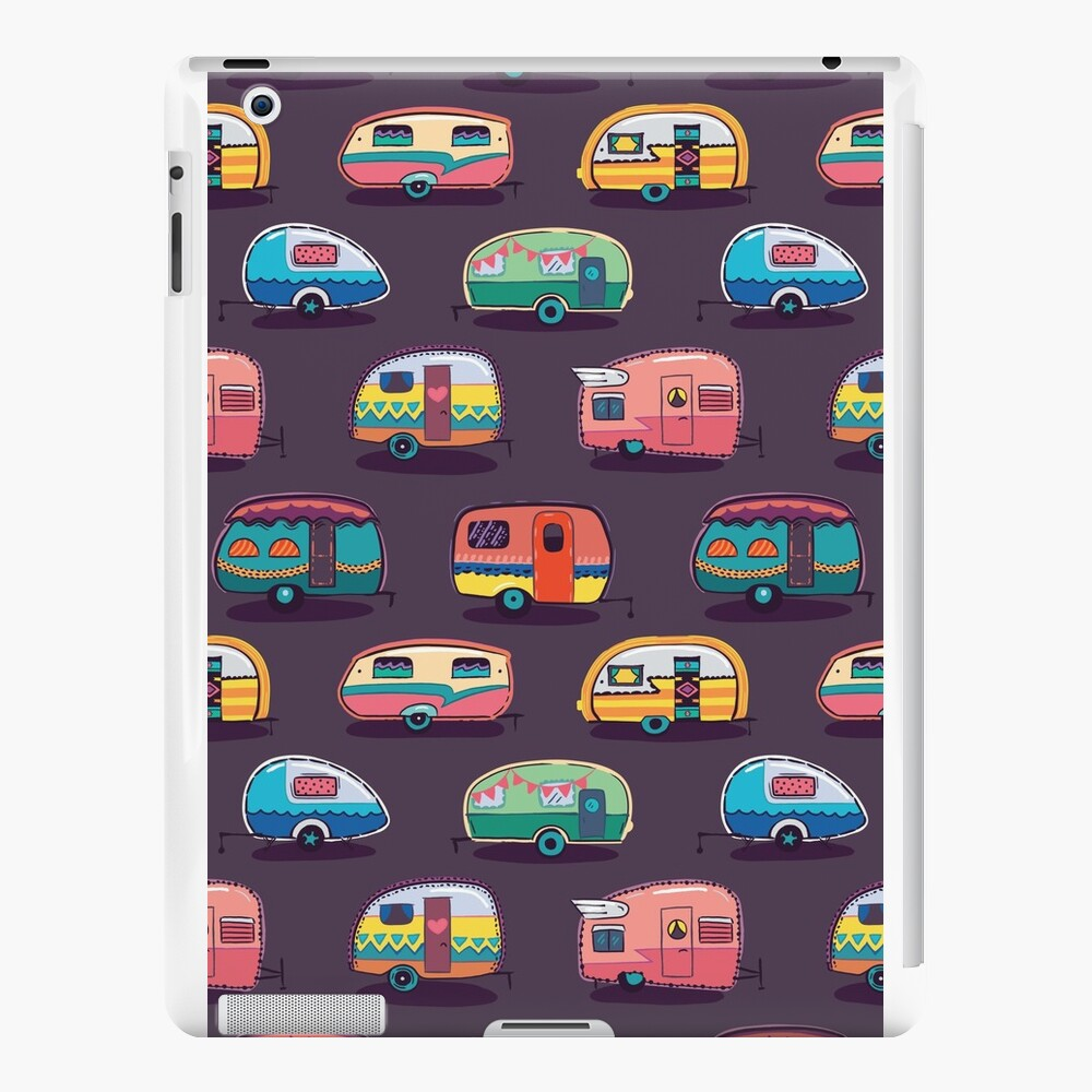 Happy camper iPad Cases & Skins