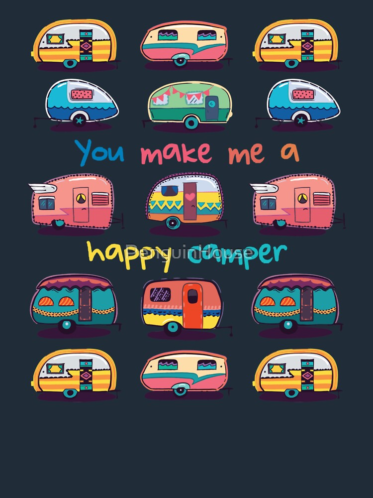Happy camper by PenguinHouse