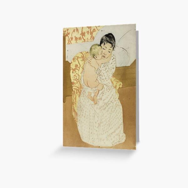 Mary Cassatt. Maternal Caress, 1890-91. Greeting Card