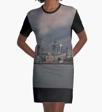Magnetic London atmosphere Graphic T-Shirt Dress