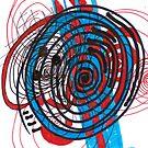#spiral, #design, #abstract, #pattern, art, illustration, curve, vortex, shape, creativity, decoration by znamenski