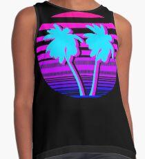Aesthetic Palm trees Sleeveless Top