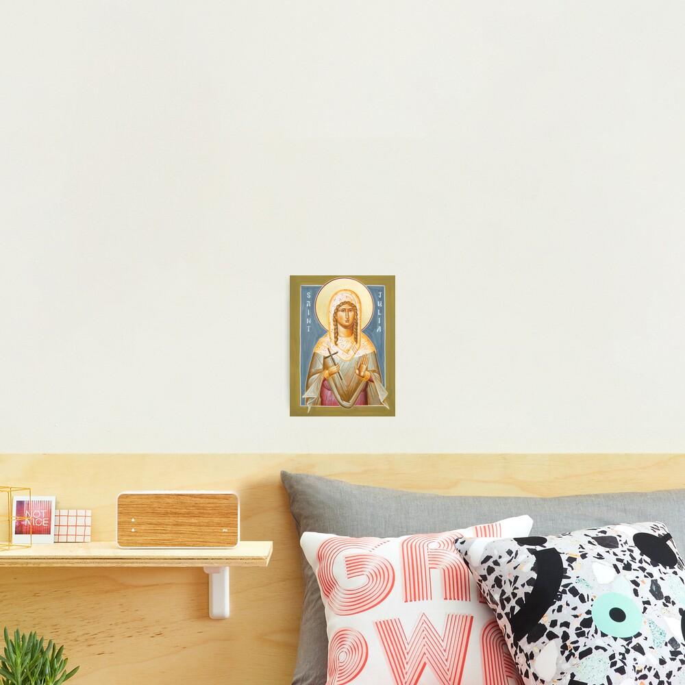 St Julia of Carthage Photographic Print