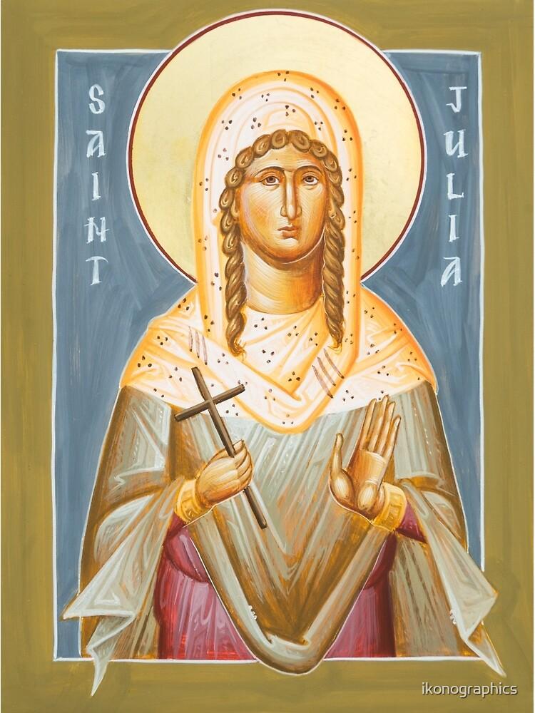 St Julia of Carthage by ikonographics