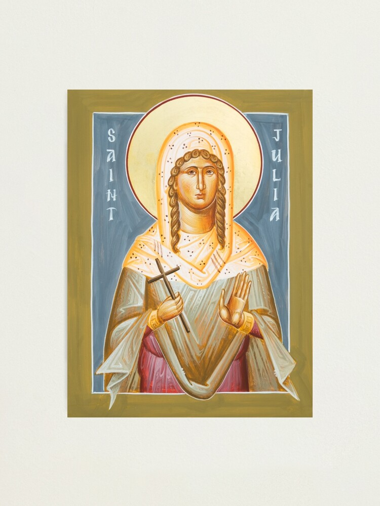 Alternate view of St Julia of Carthage Photographic Print