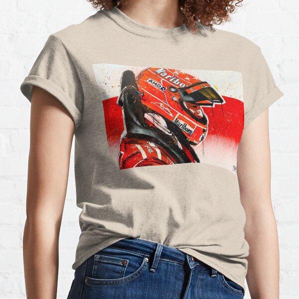 Michael Schumacher - Ferrari F1 graffiti painting by DRAutoArt Classic T-Shirt
