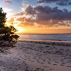 Sunrise on the Foreshore at Inverloch, Victoria by Christine Smith