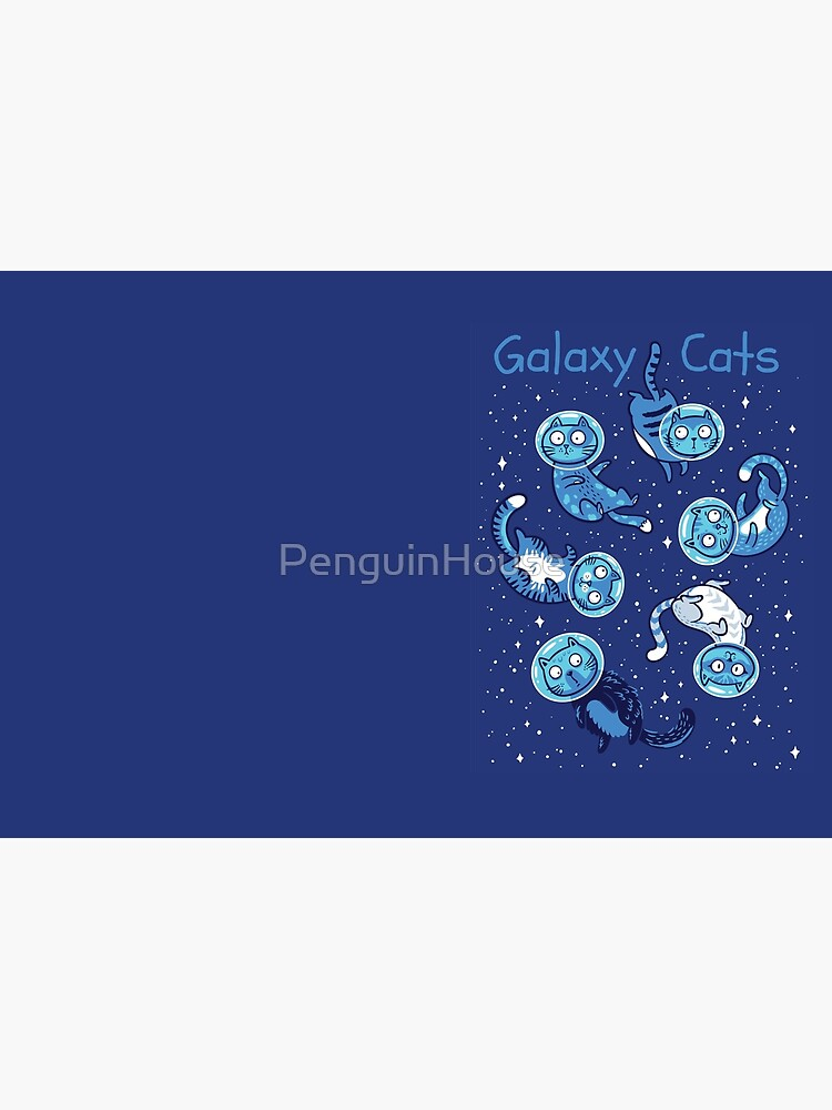 Galaxy cats by PenguinHouse