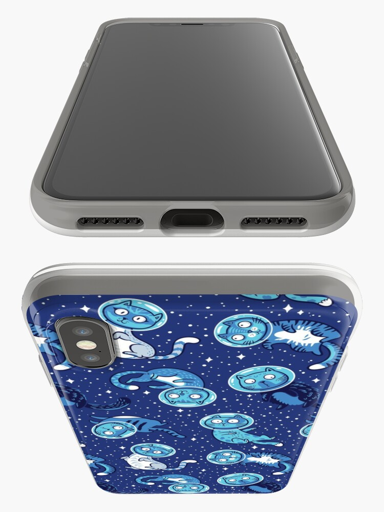 Alternative Ansicht von Galaxie Katzen iPhone-Hüllen & Cover