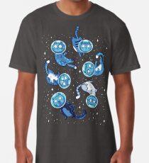 Camiseta larga Gatos Galaxy
