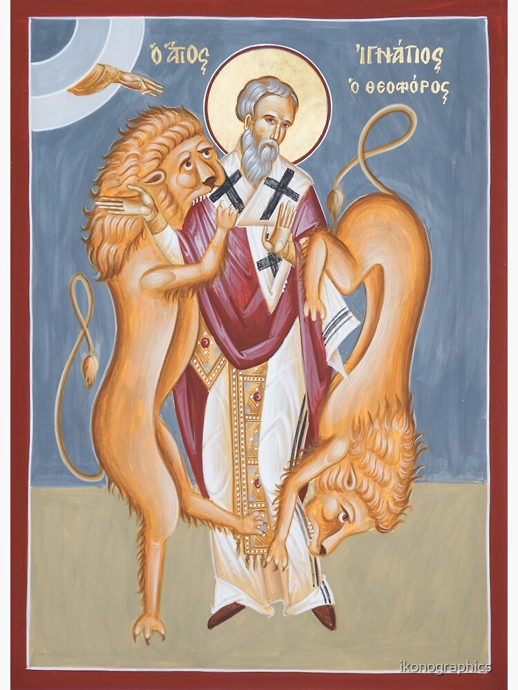 St Ignatius of Antioch  by ikonographics