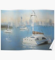 Lazy day on Watsons Bay Poster