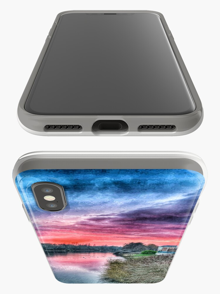 Alternate view of River Mersey  iPhone Case & Cover