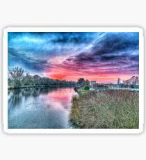 River Mersey  Sticker