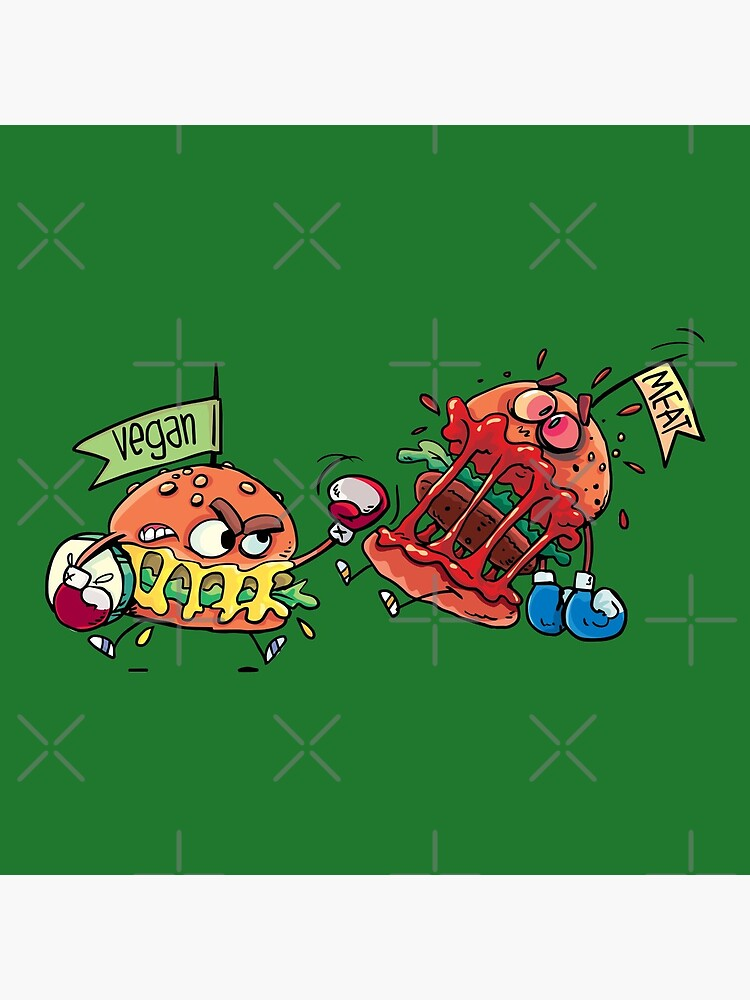 hamburgers fight by duxpavlic