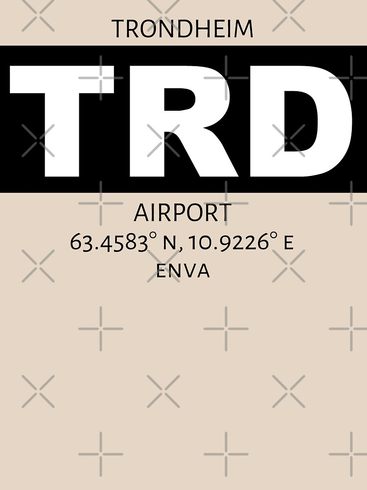 Trondheim Airport TRD by AvGeekCentral