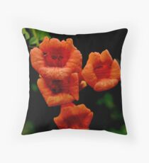 Wisteria blooms Throw Pillow