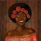 Autumn joy-black girl magic. by cardwellandink