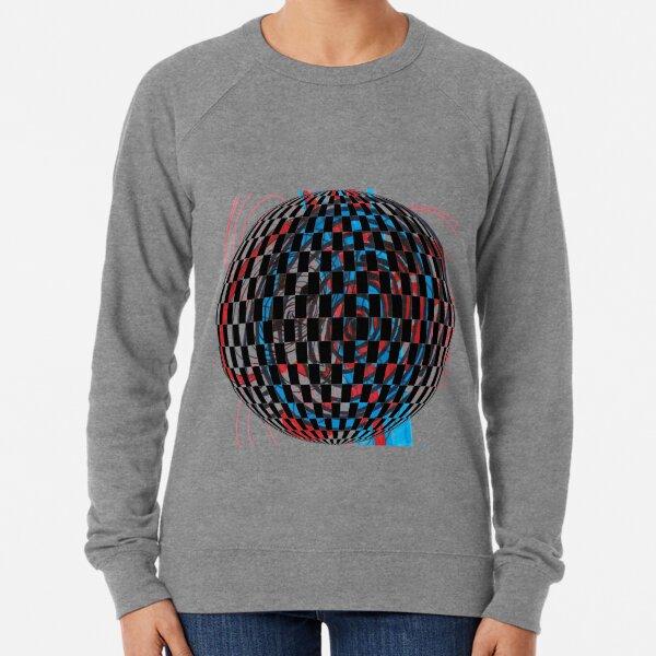 #circle, #ball, #illustration, #design, sphere, vector, abstract, shape, symbol, art, 360-degree view Lightweight Sweatshirt
