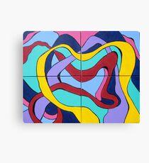 Ribbon Quartet Canvas Print