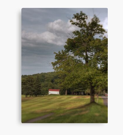 Looking Down the Fairway Canvas Print