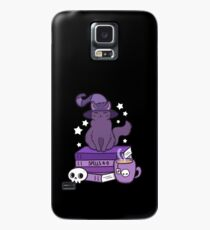 Funda/vinilo para Samsung Galaxy Feline Familiar 02 // Black