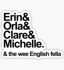 Derry Girls Text Sticker